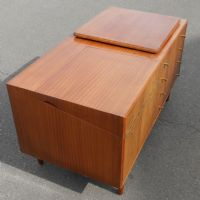 Retro Teak Drinks Cabinet Chest of Drawers